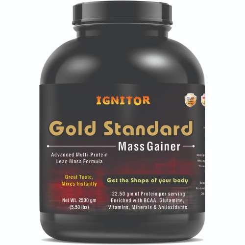 Gold Standard Mass Gainer Front Side - jpg (Ignitor -3kg)